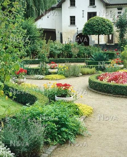Innenhof Cottage Garten Media Database