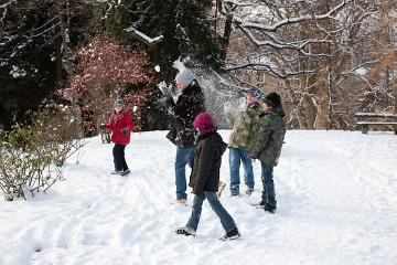 atmosphere, Children and Snow, children, Humans, snow, Spaß im Schnee, Winter impression