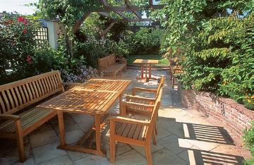 Garden Furniture, Pergola, Shrubs and Palms