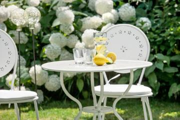 atmosphere, Garden Furniture, Garten, Geschirr, hydrangea (Genus), impression